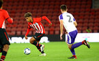 SOUTHAMPTON, ENGLAND - NOVEMBER 04: Enzo Robise (left) during the U18's FA Youth Cup match between Southampton FC and Rotherham United pictured at St Mary's Stadium on December 4, 2018 in Southampton, England. (Photo by James Bridle - Southampton FC/Southampton FC via Getty Images)