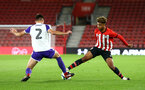 SOUTHAMPTON, ENGLAND - NOVEMBER 04: Enzo Robise (right) during the U18's FA Youth Cup match between Southampton FC and Rotherham United pictured at St Mary's Stadium on December 4, 2018 in Southampton, England. (Photo by James Bridle - Southampton FC/Southampton FC via Getty Images)