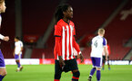 SOUTHAMPTON, ENGLAND - NOVEMBER 04: Taymar Fleary (middle) during the U18's FA Youth Cup match between Southampton FC and Rotherham United pictured at St Mary's Stadium on December 4, 2018 in Southampton, England. (Photo by James Bridle - Southampton FC/Southampton FC via Getty Images)