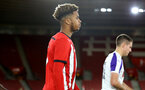 SOUTHAMPTON, ENGLAND - NOVEMBER 04: Enzo Robise ahead of Kick off for the U18's FA Youth Cup match between Southampton FC and Rotherham United pictured at St Mary's Stadium on December 4, 2018 in Southampton, England. (Photo by James Bridle - Southampton FC/Southampton FC via Getty Images)