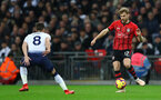 LONDON, ENGLAND - DECEMBER 05: Stuart Armstrong of Southampton during the Premier League match between Tottenham Hotspur and Southampton FC at Tottenham Hotspur Stadium on December 5, 2018 in London, United Kingdom. (Photo by Matt Watson/Southampton FC via Getty Images)