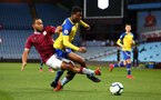 BIRMINGHAM, ENGLAND - DECEMBER 07: Nathan Tella (right) during the match between Aston Villa FC and Southampton FC pictured at Villa Park Stadium  on December 7, 2018 in Birmingham, England. (Photo by James Bridle - Southampton FC/Southampton FC via Getty Images)