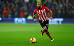 CARDIFF, WALES - DECEMBER 08: Nathan Redmond of Southampton during the Premier League match between Cardiff City and Southampton FC at Cardiff City Stadium on December 8, 2018 in Cardiff, United Kingdom. (Photo by Matt Watson/Southampton FC via Getty Images)