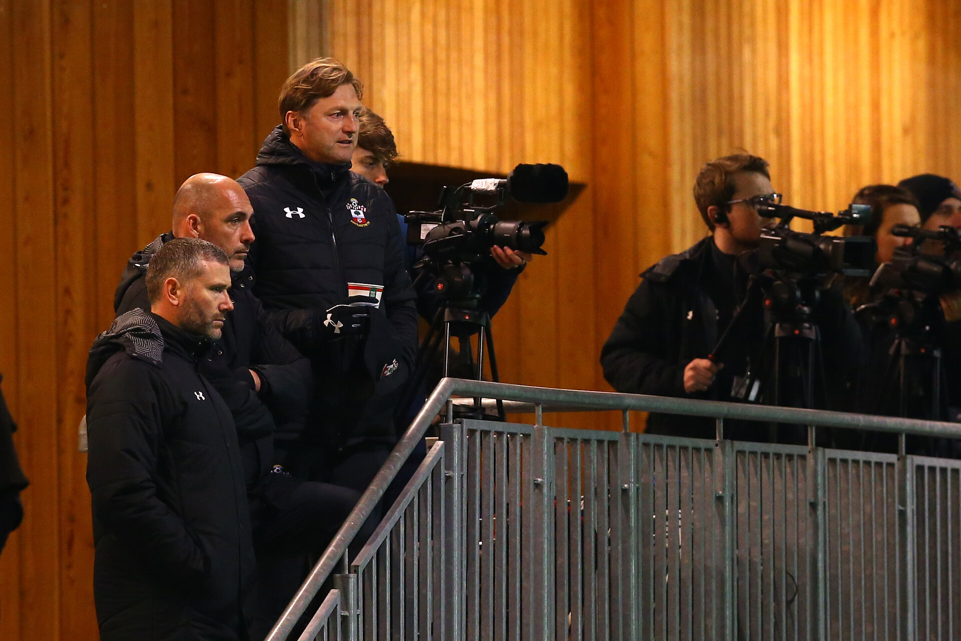 SOUTHAMPTON, ENGLAND - DECEMBER 11: during the U23s Cup match between Southampton FC and West Ham United pictured at Staplewood Training Ground on December 11, 2018 in Southampton England. (Photo by James Bridle - Southampton FC/Southampton FC via Getty Images)