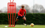 SOUTHAMPTON, ENGLAND - DECEMBER 12: Enzo Robise during a Southampton FC training session at the Staplewood Campus on December 12, 2018 in Southampton, England. (Photo by Matt Watson/Southampton FC via Getty Images)