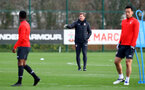 SOUTHAMPTON, ENGLAND - DECEMBER 12: Ralph Hasenhüttl during a Southampton FC training session at the Staplewood Campus on December 12, 2018 in Southampton, England. (Photo by Matt Watson/Southampton FC via Getty Images)