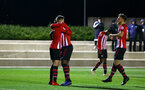 SOUTHAMPTON, ENGLAND - DECEMBER 14: Will Smallbone scores and celebrates for Southampton FC  during the U23s Cup match between Southampton FC and Newcastle United pictured at Staplewood Training Ground on December 14, 2018 in Southampton England. (Photo by James Bridle - Southampton FC/Southampton FC via Getty Images)