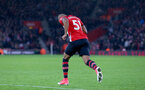 SOUTHAMPTON, ENGLAND - DECEMBER 16: Tyreke Johnson of Southampton makes his debut during the Premier League match between Southampton FC and Arsenal FC at St Mary's Stadium on December 15, 2018 in Southampton, United Kingdom. (Photo by Matt Watson/Southampton FC via Getty Images)