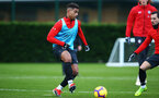 SOUTHAMPTON, ENGLAND - DECEMBER 19: Mario Lemina during a Southampton FC training session at Staplewood Complex on December 19, 2018 in Southampton, England. (Photo by James Bridle - Southampton FC/Southampton FC via Getty Images)