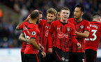 HUDDERSFIELD, ENGLAND - DECEMBER 22:  players of Southampton celebrate after Danny Ings scores during the Premier League match between Huddersfield Town and Southampton FC at John Smith's Stadium on December 22, 2018 in Huddersfield, United Kingdom. (Photo by Matt Watson/Southampton FC via Getty Images)