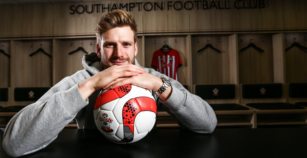 Stuart Armstrong pictured at St Mary's stadium, Southampton, 20th December 2018