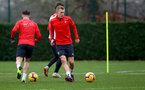 SOUTHAMPTON, ENGLAND - DECEMBER 25: James Ward-Prowse during a Southampton FC training session at the Staplewood Campus on December 25, 2018 in Southampton, England. (Photo by Matt Watson/Southampton FC via Getty Images)
