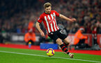 SOUTHAMPTON, ENGLAND - DECEMBER 27: Stuart Armstrong of Southampton during the Premier League match between Southampton FC and West Ham United at St Mary's Stadium on December 27, 2018 in Southampton, United Kingdom. (Photo by Matt Watson/Southampton FC via Getty Images)