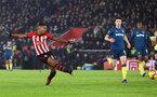 SOUTHAMPTON, ENGLAND - DECEMBER 27: Mario Lemina during the Premier League match between Southampton FC and West Ham United at St Mary's Stadium on December 26, 2018 in Southampton, United Kingdom. (Photo by Chris Moorhouse/Southampton FC via Getty Images)
