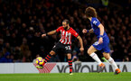 LONDON, ENGLAND - JANUARY 02: Nathan Redmond of Southampton during the Premier League match between Chelsea FC and Southampton FC at Stamford Bridge on January 02, 2019 in London, United Kingdom. (Photo by Matt Watson/Southampton FC via Getty Images)