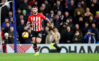 LONDON, ENGLAND - JANUARY 02: Charlie Austin of Southampton during the Premier League match between Chelsea FC and Southampton FC at Stamford Bridge on January 02, 2019 in London, United Kingdom. (Photo by Matt Watson/Southampton FC via Getty Images)