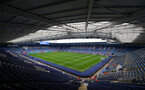 LEICESTER, ENGLAND - JANUARY 12: General view ahead of the Premier League match between Leicester City and Southampton FC at The King Power Stadium on January 12, 2019 in Leicester, United Kingdom. (Photo by Matt Watson/Southampton FC via Getty Images)