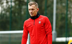 SOUTHAMPTON, ENGLAND - JANUARY 15: James Ward-Prowse during a Southampton FC  training session at Staplewood Complex on January 15, 2019 in Southampton, England. (Photo by James Bridle - Southampton FC/Southampton FC via Getty Images)