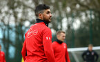 SOUTHAMPTON, ENGLAND - JANUARY 15: Shane Long during a Southampton FC  training session at Staplewood Complex on January 15, 2019 in Southampton, England. (Photo by James Bridle - Southampton FC/Southampton FC via Getty Images)