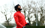 SOUTHAMPTON, ENGLAND - JANUARY 15: Nathan Redmond heads the ball during a Southampton FC  training session at Staplewood Complex on January 15, 2019 in Southampton, England. (Photo by James Bridle - Southampton FC/Southampton FC via Getty Images)