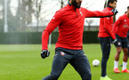 SOUTHAMPTON, ENGLAND - JANUARY 15: Nathan Redmond during a Southampton FC  training session at Staplewood Complex on January 15, 2019 in Southampton, England. (Photo by James Bridle - Southampton FC/Southampton FC via Getty Images)