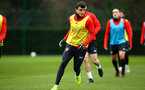SOUTHAMPTON, ENGLAND - JANUARY 15: Mohamed Elyounoussi during a Southampton FC  training session at Staplewood Complex on January 15, 2019 in Southampton, England. (Photo by James Bridle - Southampton FC/Southampton FC via Getty Images)