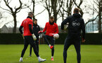 SOUTHAMPTON, ENGLAND - JANUARY 15: during a Southampton FC  training session at Staplewood Complex on January 15, 2019 in Southampton, England. (Photo by James Bridle - Southampton FC/Southampton FC via Getty Images)
