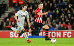 SOUTHAMPTON, ENGLAND - JANUARY 16: James Ward-Prowse during the FA Cup Third Round Replay match between Southampton FC and Derby County at St Mary's Stadium on January 16, 2019 in Southampton, United Kingdom. (Photo by Chris Moorhouse Southampton FC/Southampton FC via Getty Images)