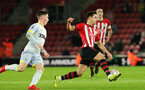 SOUTHAMPTON, ENGLAND - JANUARY 16: Cedric Soares during the FA Cup Third Round Replay match between Southampton FC and Derby County at St Mary's Stadium on January 16, 2019 in Southampton, United Kingdom. (Photo by Chris Moorhouse Southampton FC/Southampton FC via Getty Images)