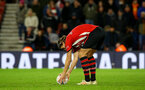 SOUTHAMPTON, ENGLAND - JANUARY 16: Jannik Vestergaard places the ball ahead of his penalty during the FA Cup Third Round Replay match between Southampton FC and Derby County at St Mary's Stadium on January 16, 2019 in Southampton, United Kingdom. (Photo by James Bridle - Southampton FC/Southampton FC via Getty Images)