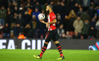 SOUTHAMPTON, ENGLAND - JANUARY 16: Nathan Redmond Walking to take a penalty during the FA Cup Third Round Replay match between Southampton FC and Derby County at St Mary's Stadium on January 16, 2019 in Southampton, United Kingdom. (Photo by James Bridle - Southampton FC/Southampton FC via Getty Images)