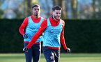SOUTHAMPTON, ENGLAND - JANUARY 17: Wesley Hoedt during a Southampton FC training session at the Staplewood Campus on January 17, 2019 in Southampton, England. (Photo by Matt Watson/Southampton FC via Getty Images)