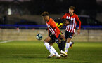 LONDON, ENGLAND - JANUARY 17:  Enzo Robise (middle) during a  FA Youth Cup match between Watford FC and Southampton FC on January 17, 2019 in Watford, United Kingdom. (Photo by James Bridle - Southampton FC/Southampton FC via Getty Images)
