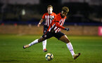 LONDON, ENGLAND - JANUARY 17:  Oludare Olufunwa during a  FA Youth Cup match between Watford FC and Southampton FC on January 17, 2019 in Watford, United Kingdom. (Photo by James Bridle - Southampton FC/Southampton FC via Getty Images)