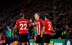 SOUTHAMPTON, ENGLAND - JANUARY 19: James Ward-Prowse of Southampton celebrates during the Premier League match between Southampton FC and Everton FC at St Mary's Stadium on January 19, 2019 in Southampton, United Kingdom. (Photo by Matt Watson/Southampton FC via Getty Images)