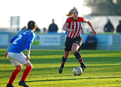 Saints edged out by Pompey