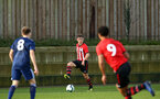 SOUTHAMPTON, ENGLAND - JANUARY 26: Sean Keogh during the Under 18s match between Southampton FC and Fulham FC pictured at Staplewood Complex on January 26, 2019 in Southampton, England. (Photo by James Bridle - Southampton FC/Southampton FC via Getty Images)
