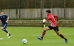 SOUTHAMPTON, ENGLAND - JANUARY 26: Oludare Olufunwa during the Under 18s match between Southampton FC and Fulham FC pictured at Staplewood Complex on January 26, 2019 in Southampton, England. (Photo by James Bridle - Southampton FC/Southampton FC via Getty Images)