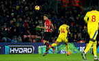 SOUTHAMPTON, ENGLAND - JANUARY 30: Jan Bednarek of Southampton during the Premier League match between Southampton FC and Crystal Palace at St Mary's Stadium on January 30, 2019 in Southampton, United Kingdom. (Photo by Matt Watson/Southampton FC via Getty Images)