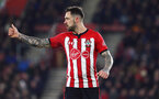SOUTHAMPTON, ENGLAND - JANUARY 30: Danny Ings during the Premier League match between Southampton FC and Crystal Palace FC at St Mary's Stadium on January 30, 2019 in Southampton, United Kingdom. (Photo by Chris Moorhouse/ Southampton FC via Getty Images)