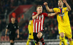 SOUTHAMPTON, ENGLAND - JANUARY 30: James Ward-Prowse during the Premier League match between Southampton FC and Crystal Palace FC at St Mary's Stadium on January 30, 2019 in Southampton, United Kingdom. (Photo by Chris Moorhouse/ Southampton FC via Getty Images)