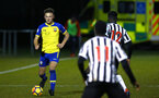 NEWCASTLE, ENGLAND - FEBRUARY 08: Harry Hamblin (left) during a PLCUP match between Southampton FC and Newcastle United pictured at Northumberland County FA on February 08, 2019 in Newcastle, England. (Photo by James Bridle - Southampton FC/Southampton FC via Getty Images)