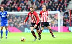 SOUTHAMPTON, ENGLAND - FEBRUARY 09: Jack Stephens of Southampton during the Premier League match between Southampton FC and Cardiff City at St Mary's Stadium on February 09, 2019 in Southampton, United Kingdom. (Photo by Matt Watson/Southampton FC via Getty Images)