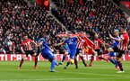 SOUTHAMPTON, ENGLAND - FEBRUARY 09: James Ward-Prowse looks to get a shot on goal during the Premier League match between Southampton FC and Cardiff City at St Mary's Stadium on February 09, 2019 in Southampton, United Kingdom. (Photo by Matt Watson/Southampton FC via Getty Images)