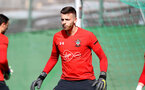 TENERIFE, SPAIN - FEBRUARY 12: Angus Gunn on day 2 of Southampton FC's winter training Camp, on February 12, 2019 in Tenerife, Spain. (Photo by Matt Watson/Southampton FC via Getty Images)