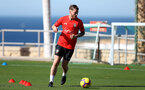 TENERIFE, SPAIN - FEBRUARY 13: Callum Slattery on day 3 of Southampton FC's winter training camp on February 13, 2019 in Tenerife, Spain. (Photo by Matt Watson/Southampton FC via Getty Images)
