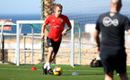 TENERIFE, SPAIN - FEBRUARY 13: James Ward-Prowse on day 3 of Southampton FC's winter training camp on February 13, 2019 in Tenerife, Spain. (Photo by Matt Watson/Southampton FC via Getty Images)