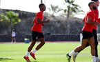 TENERIFE, SPAIN - FEBRUARY 14: Kayne Ramsay on day 4 of Southampton FC's winter training camp on February 14, 2019 in Tenerife, Spain. (Photo by Matt Watson/Southampton FC via Getty Images)