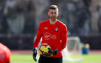 TENERIFE, SPAIN - FEBRUARY 14: Angus Gunn on day 4 of Southampton FC's winter training camp on February 14, 2019 in Tenerife, Spain. (Photo by Matt Watson/Southampton FC via Getty Images)