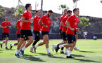TENERIFE, SPAIN - FEBRUARY 14: Players run on day 4 of Southampton FC's winter training camp on February 14, 2019 in Tenerife, Spain. (Photo by Matt Watson/Southampton FC via Getty Images)